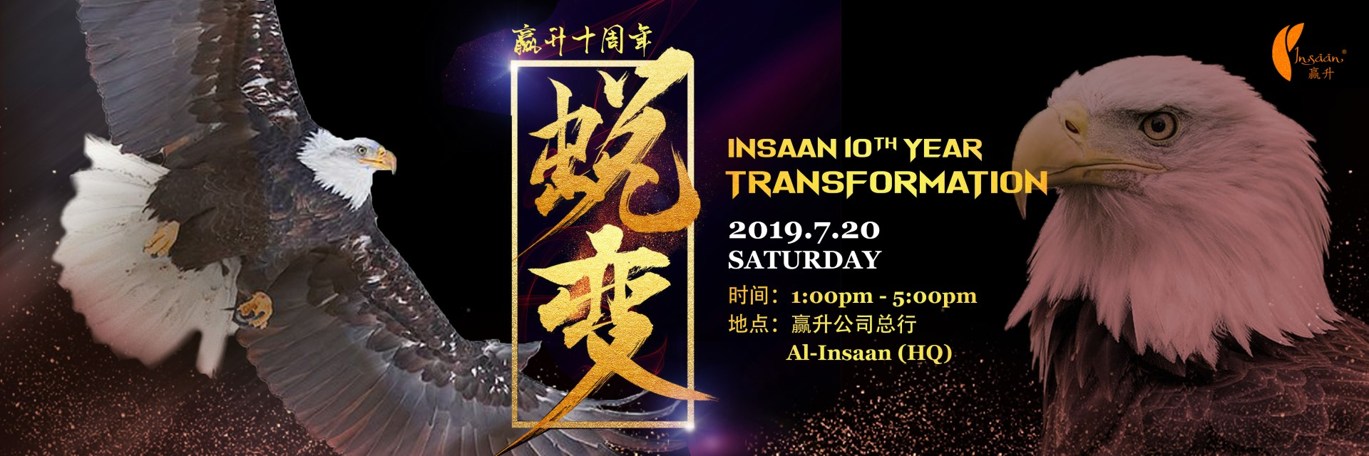 Insaan 10th Year Transformation